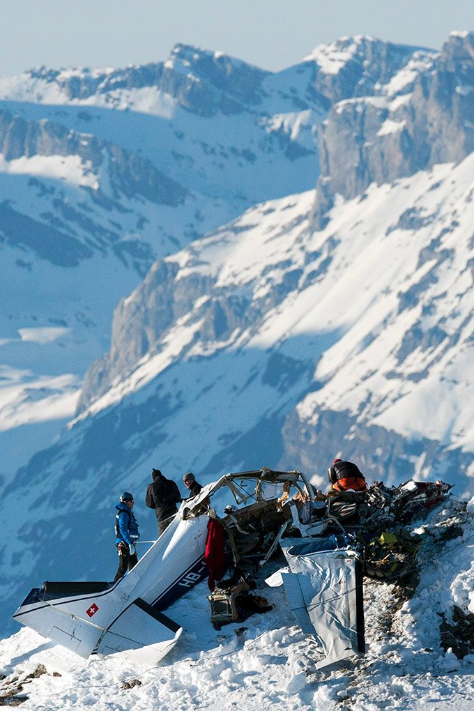 Accident d'avion - Val d'Anniviers - 2011