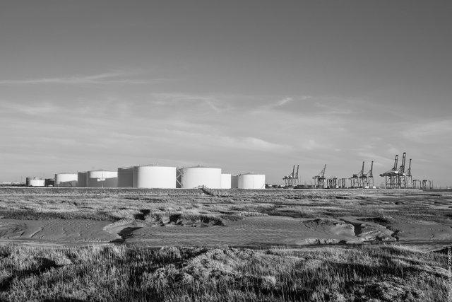 View across Colemouth Creek, Isle of Grain