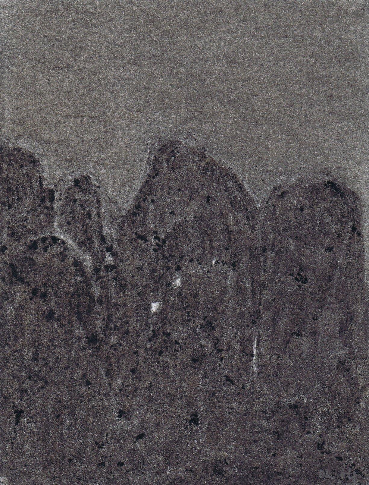 Mégalithe au clair de lune VI