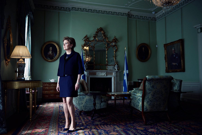 Nicola Sturgeon - British Vogue