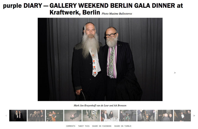 purple DIARY   GALLERY WEEKEND BERLIN GALA DINNER at Kraftwerk  Berlin.jpg