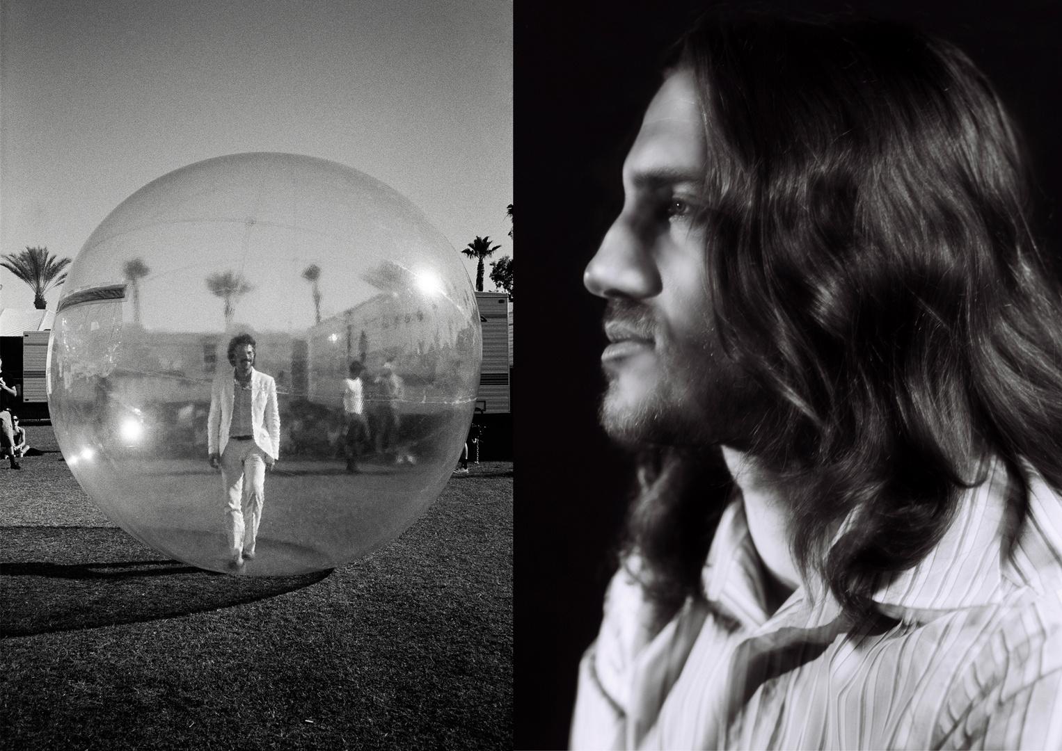 Wayne Coyne Flaming Lips / John Frusciante RHCP