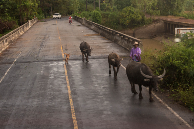 On the Road to Ban Reng Khai