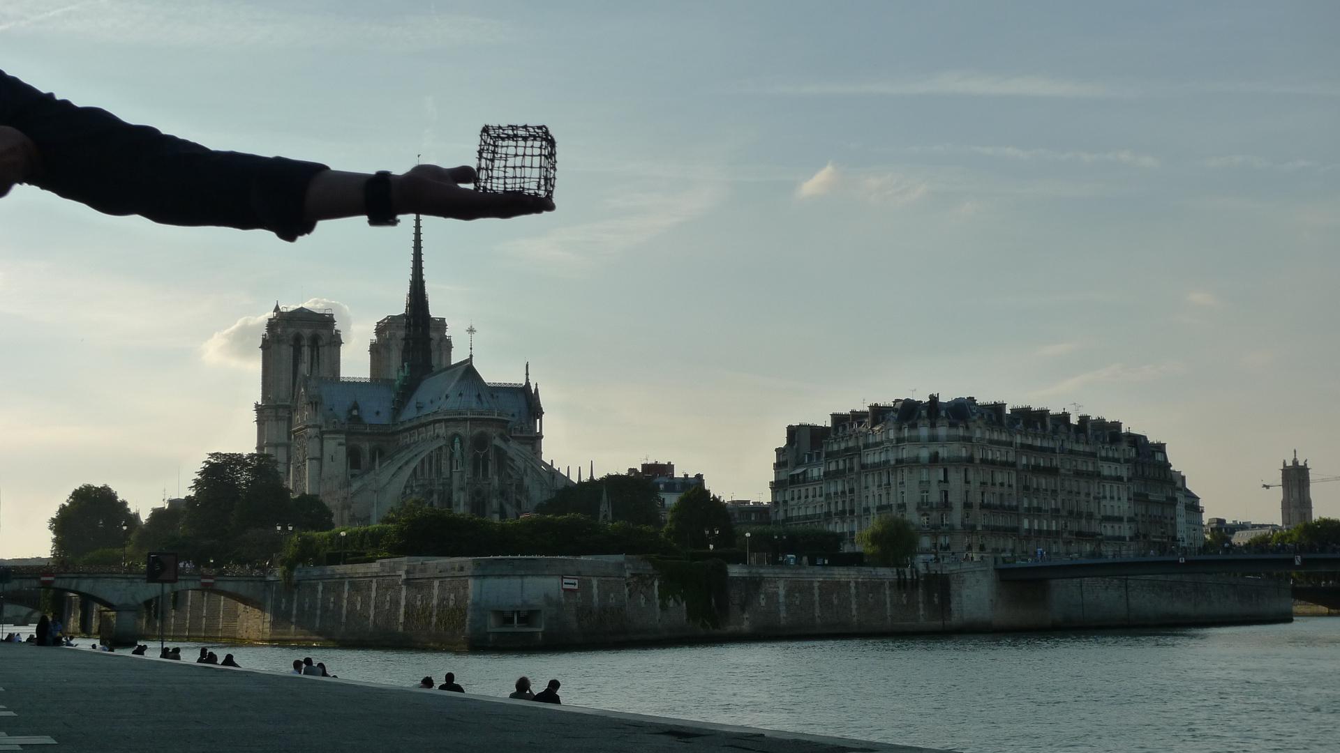Cube in Paris (August, 2012)