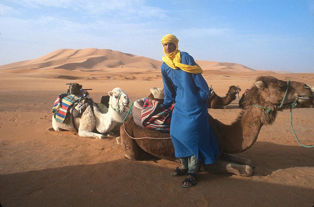 Sahara camel guide