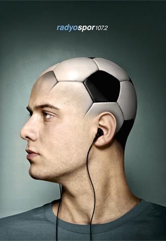 Radyospor - Football Press Ads