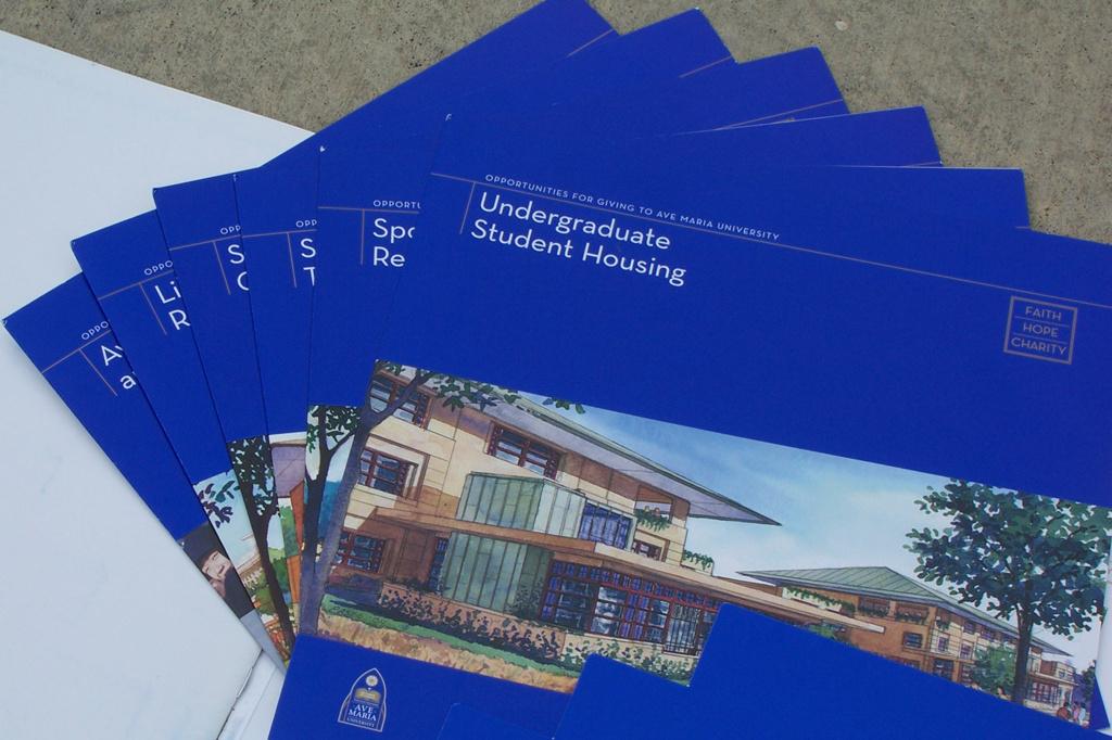 Building specific brochures
