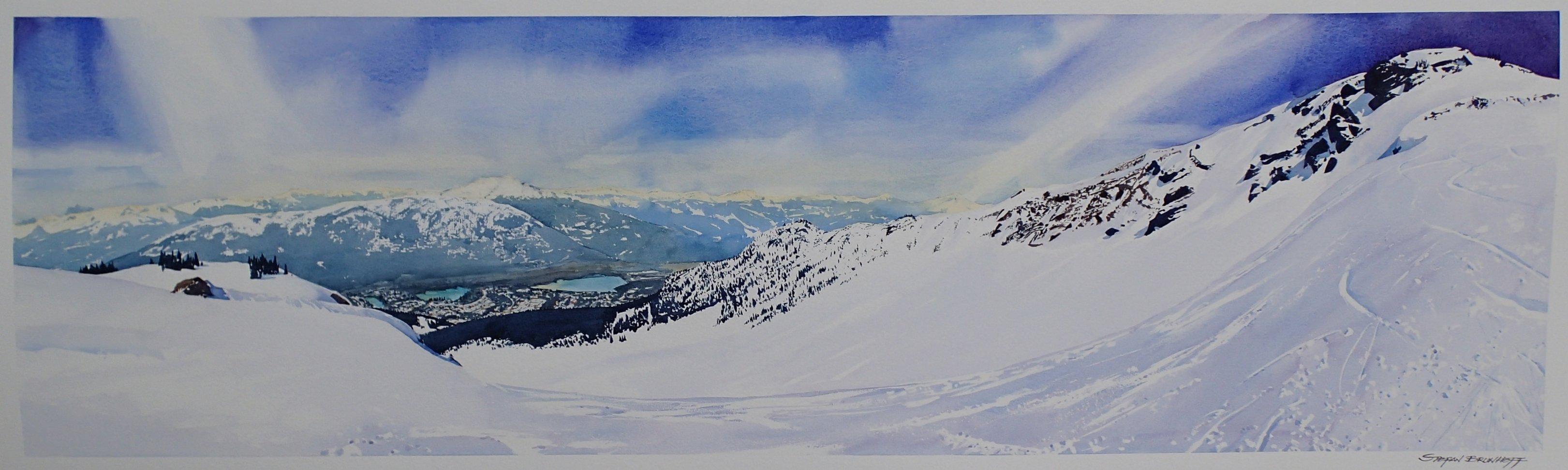 Cockalorum entry, Whistler  (Sold)