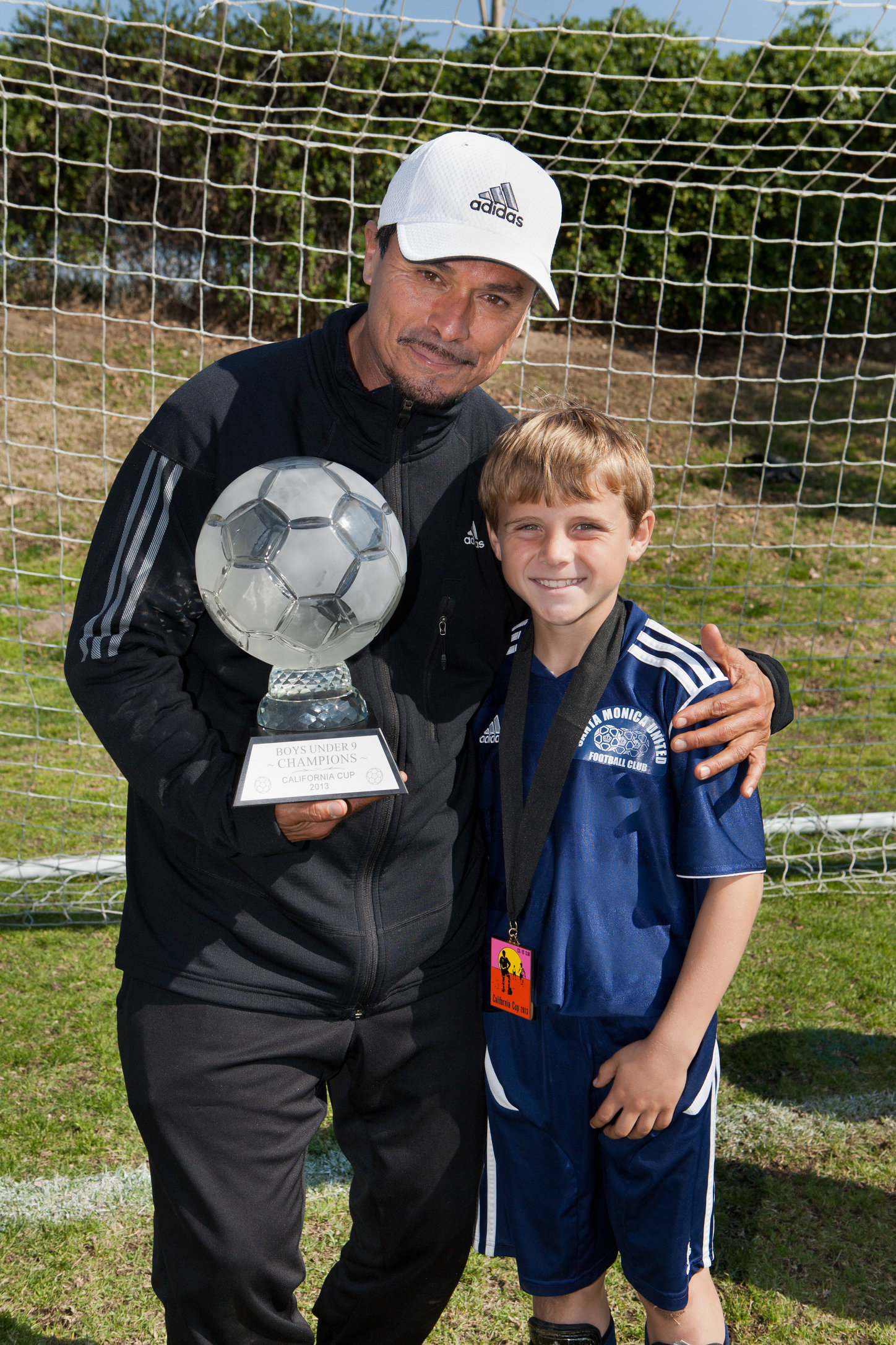Coach Nico and Samuel Lena