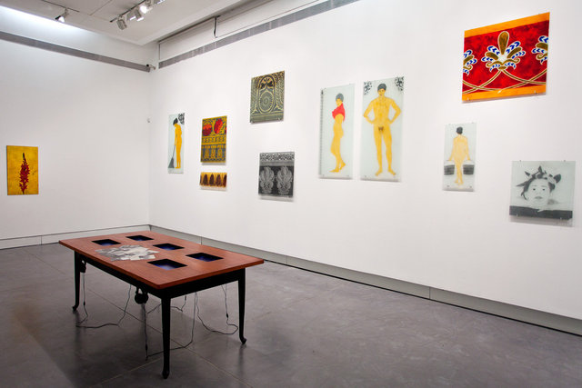 installation view    petach-tikva museum of art    2012