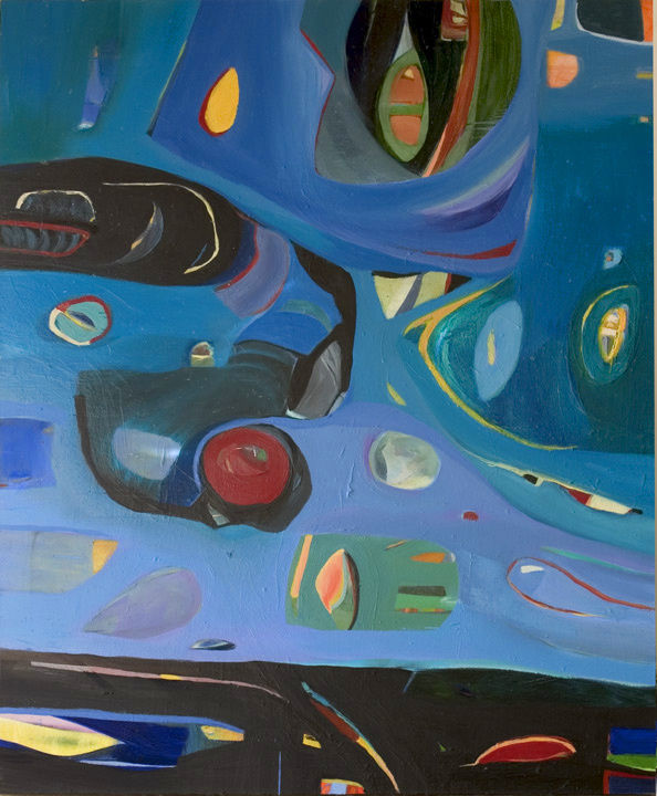 "The Dream Sequence, 1995, Oil on Canvas, 62""x51"""