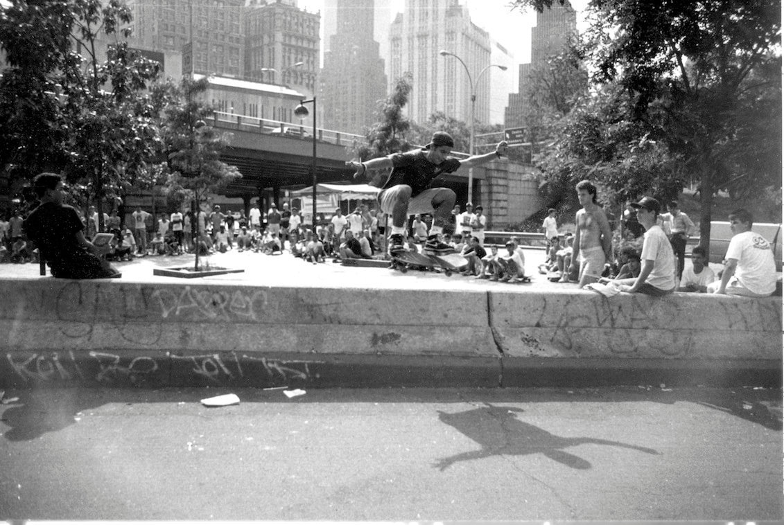 Felix Arguelles, Brooklyn Banks 1989