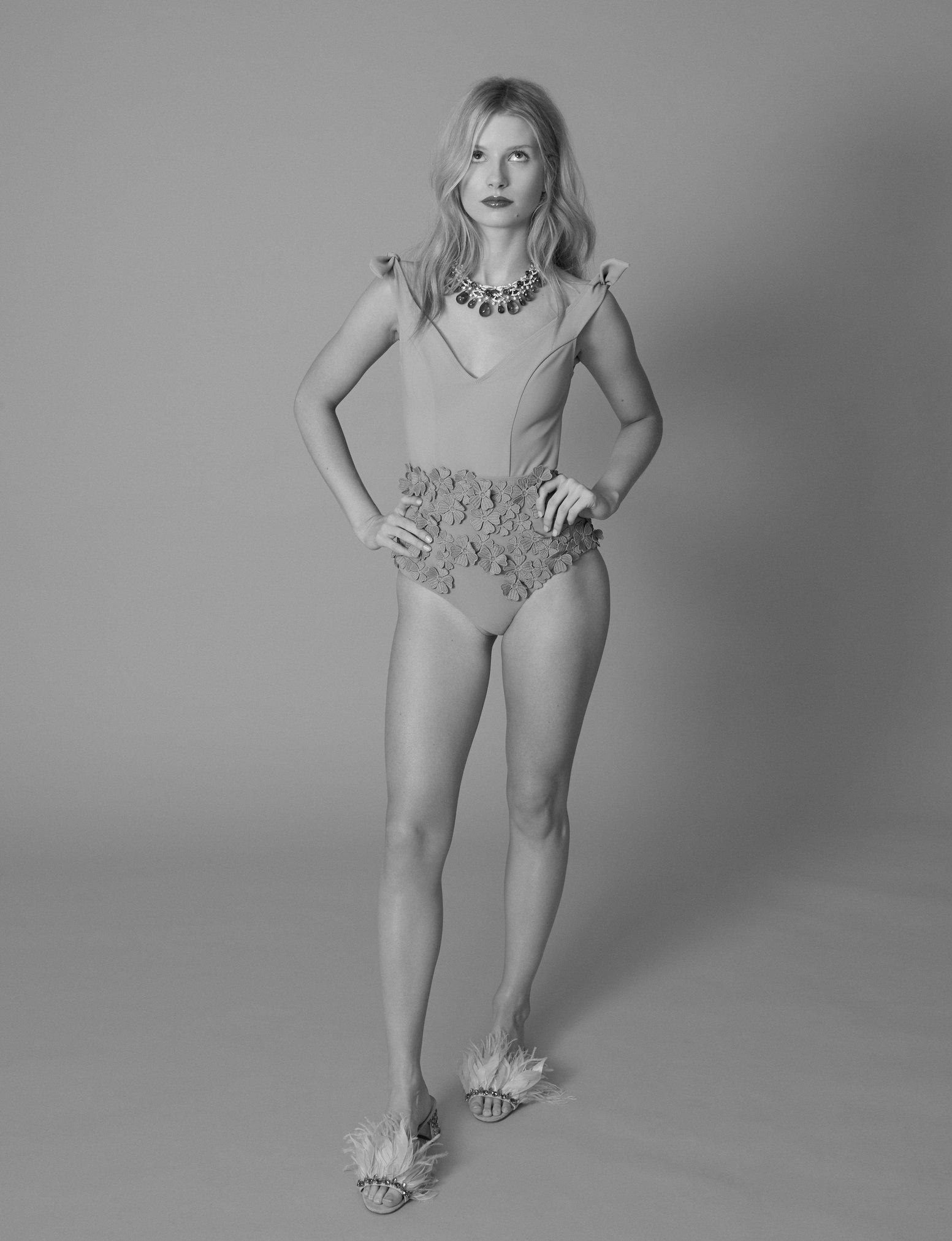 Lottie Moss w/ Sivan Currie