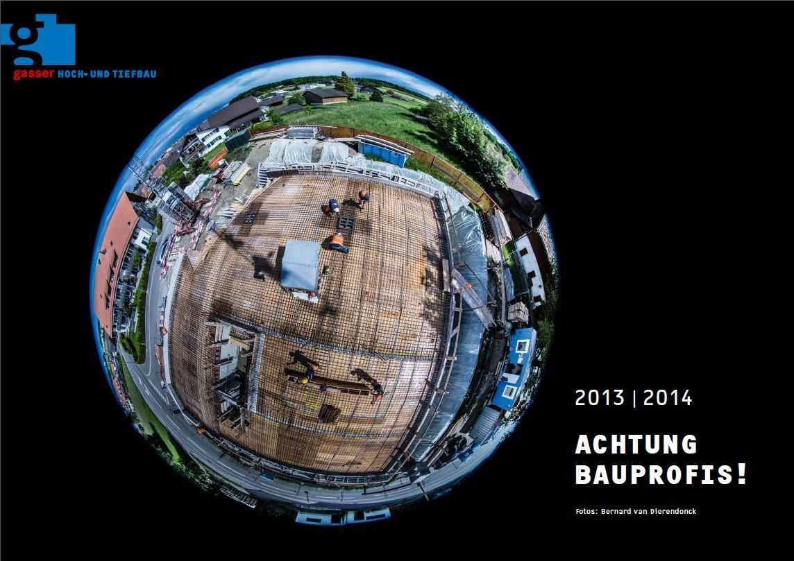 Kalender A2 für Gasser Hoch-und Tiefbau, 2013/14