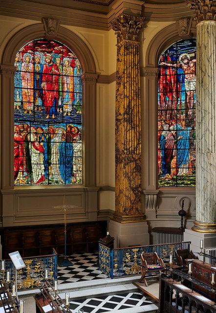 Edward Burne-Jones window restoration, Birmingham Cathedral, for D.I.A.