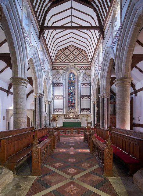 Church of St peter & St Paul Heytesbury. D.I.A.