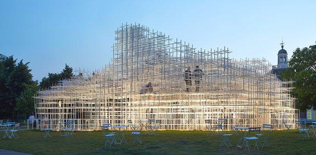 2013 Serpentine Gallery Pavilion by Sou Fujimoto