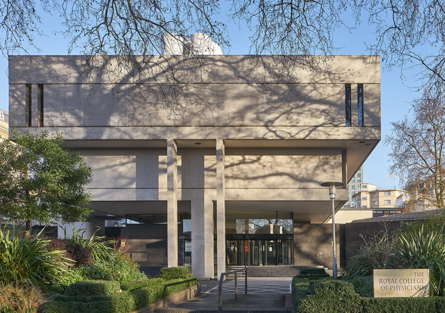 Ro.yal College of Physicians, Denys Lasdun