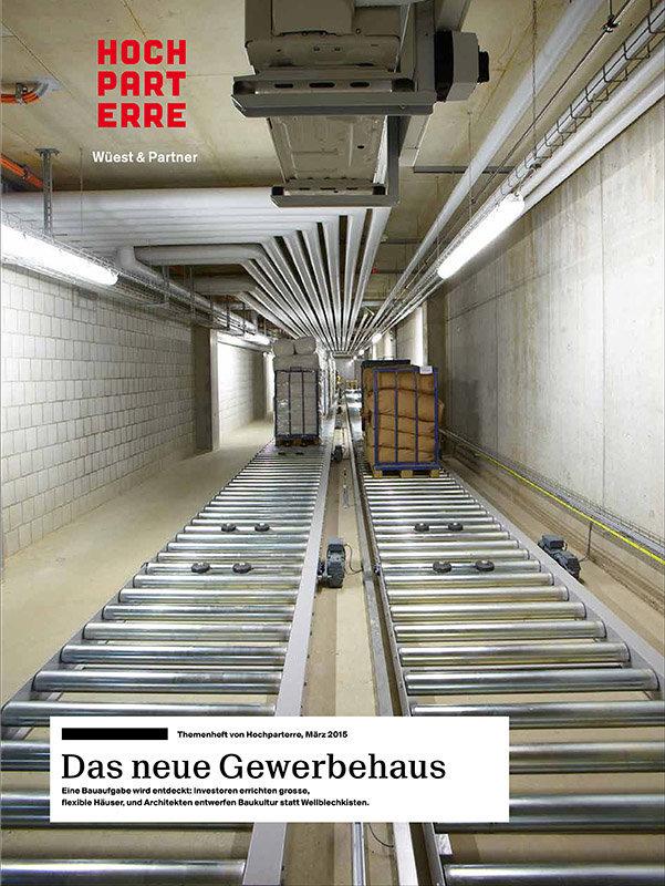 Hochparterre Gewerbehäuser Schweiz