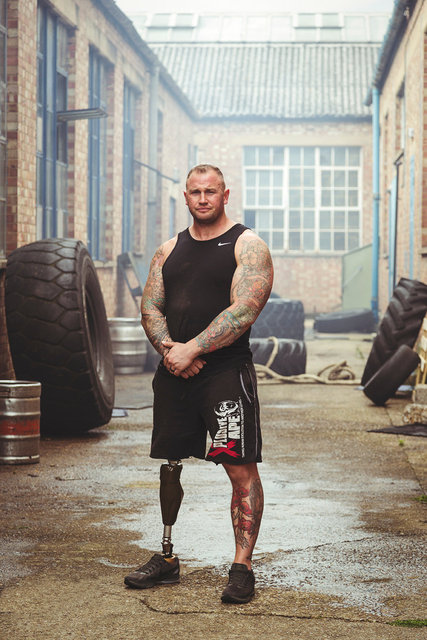 Mark Smith / Disabled Strongman / London