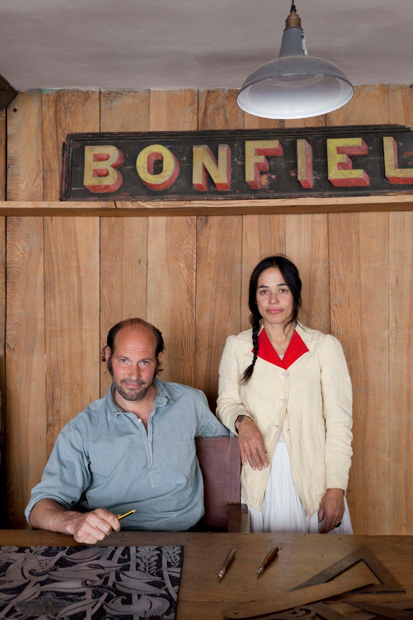 Cameron Short & Janet Tristram / 'Bonfield Block-Printers'