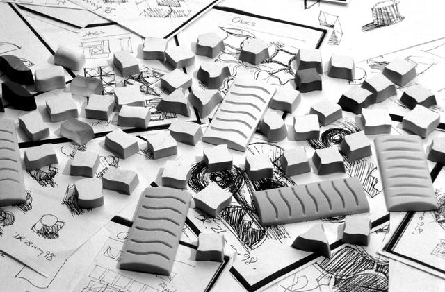 Starbucks chocolates - study models.