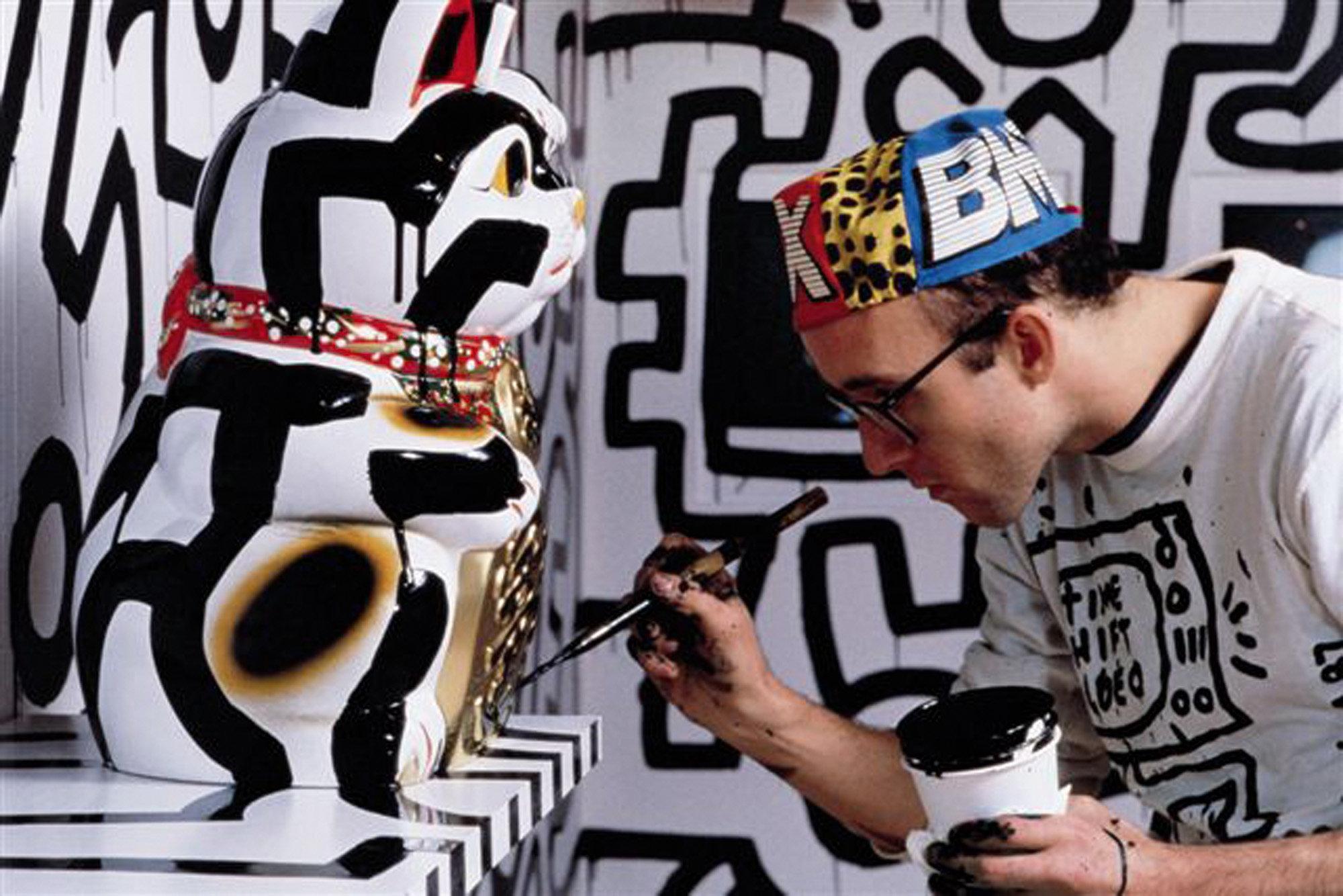 Keith Haring & Tseng Kwong Chi, Pop Shop Tokyo, 2005