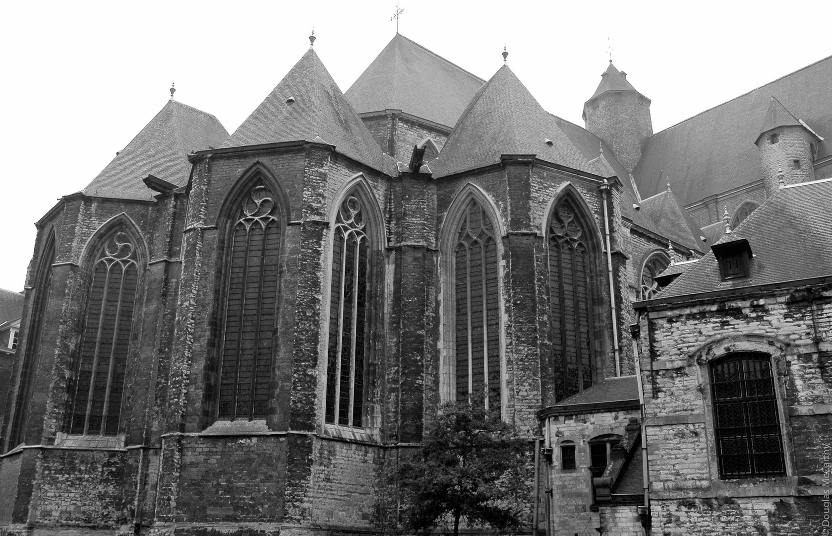 Gothic church II, Gent