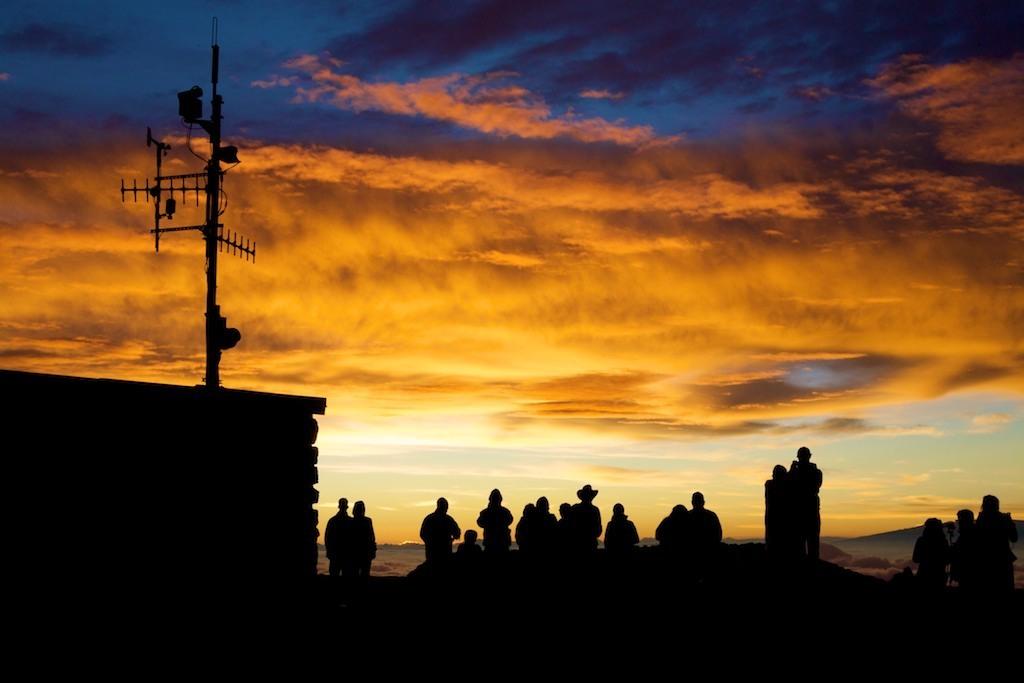 Amanhecer no Vulcão Haleakala