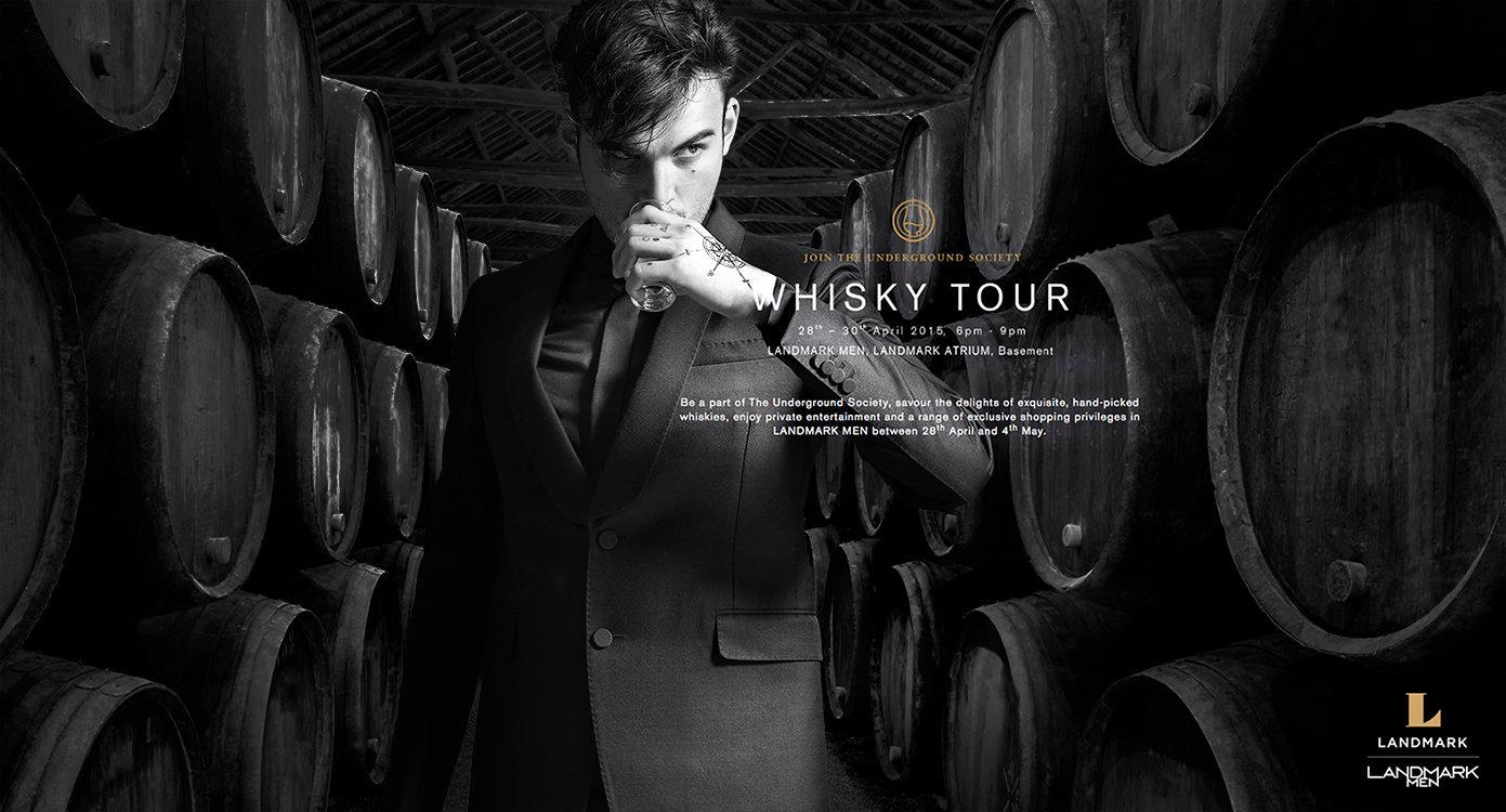 Landmark Whisky Tour campaign