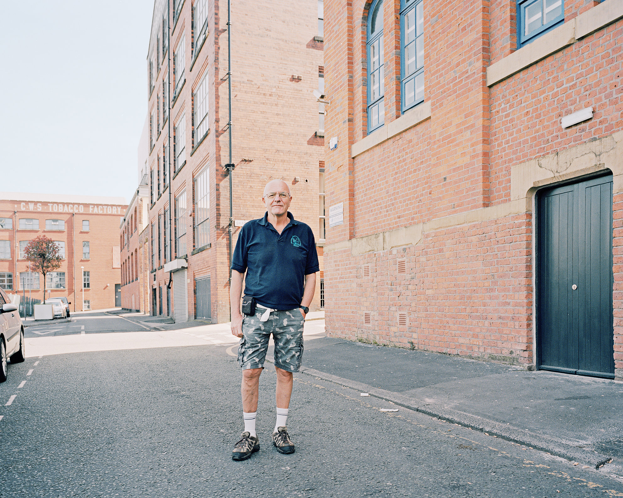 Paul Hindle, Angel Meadow, Manchester