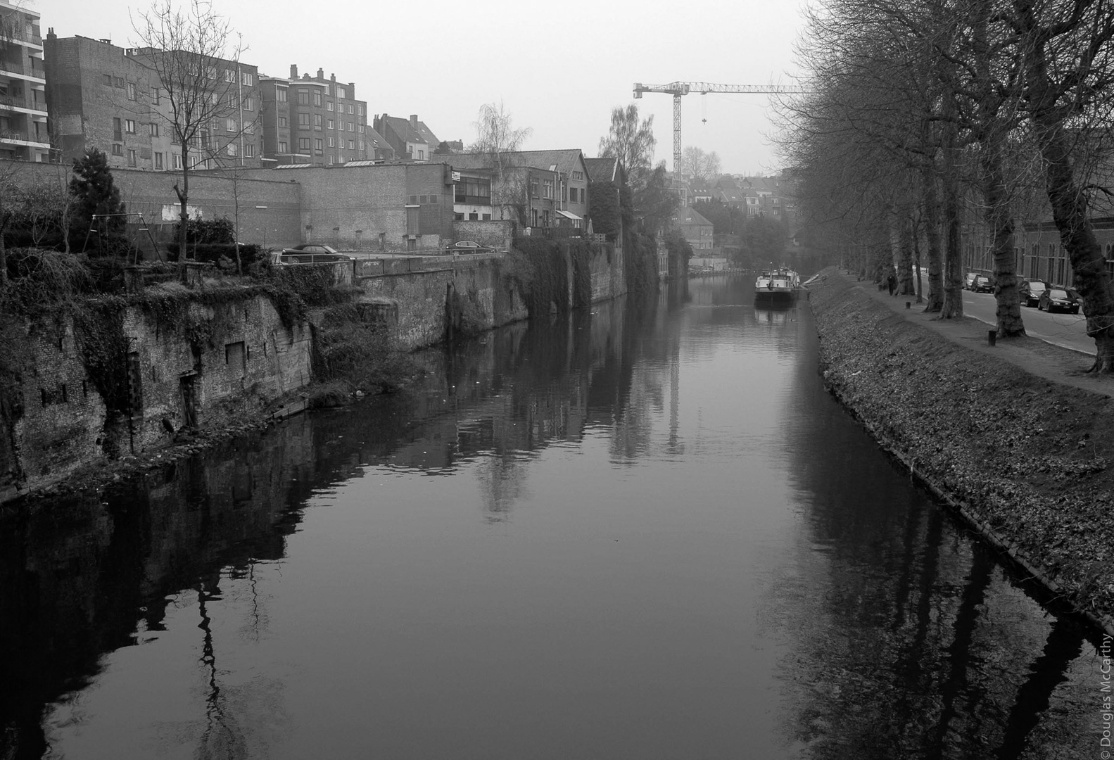From the bridge, Gent