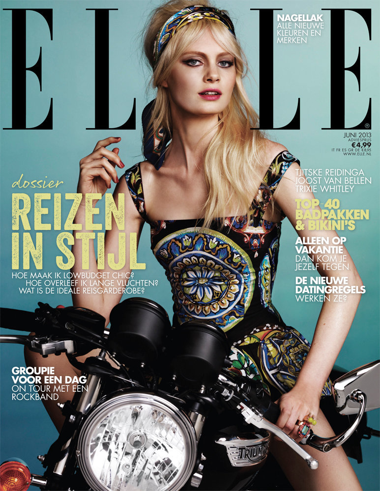 Elle NL May 2013 with Steffi