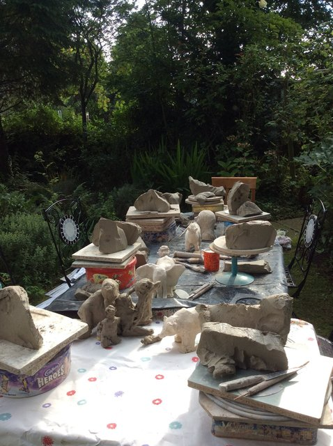 Family Sculpture Party 2015