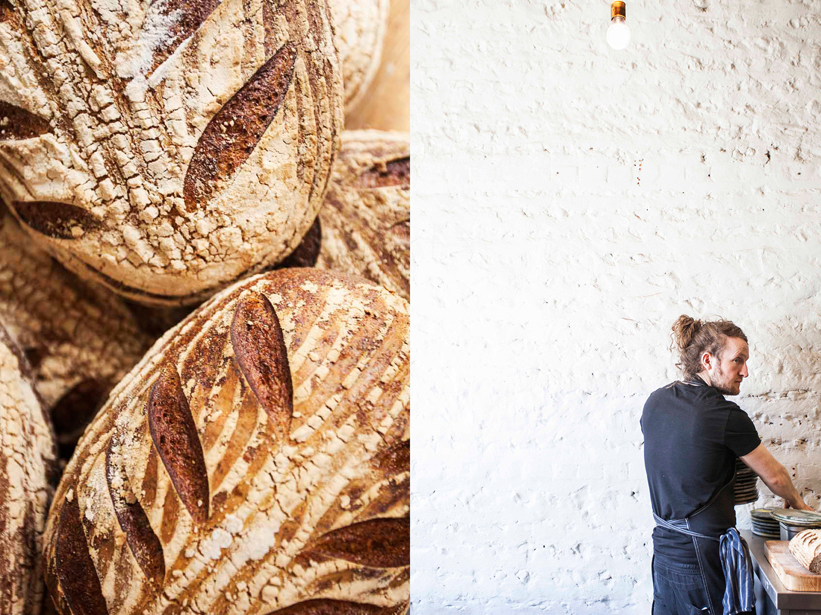 Silo's Sourdough & owner Douglas McMaster