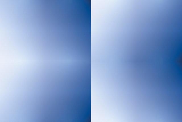 Blue White Gradient