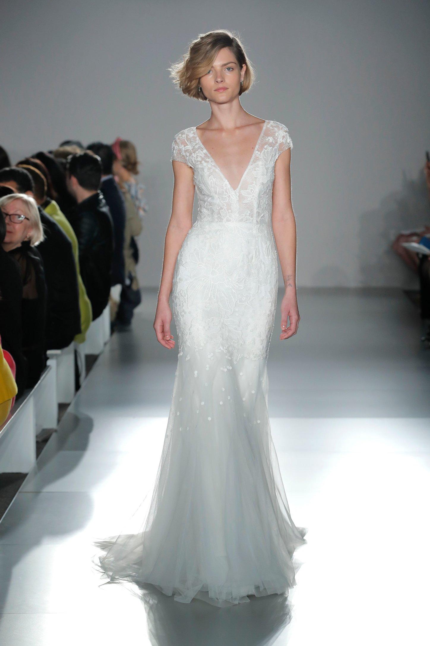 eabe1635ac2e Amsale Spring 2020 Bridal Runway Show -- Little White Dress
