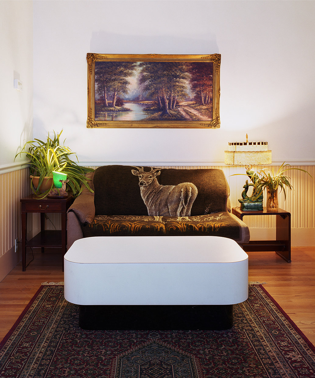 Untitled Interior (deer couch), 2010