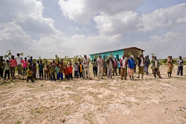 Jijica, Somali Region, school buit by VIS