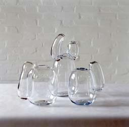 Three Sausage Vases