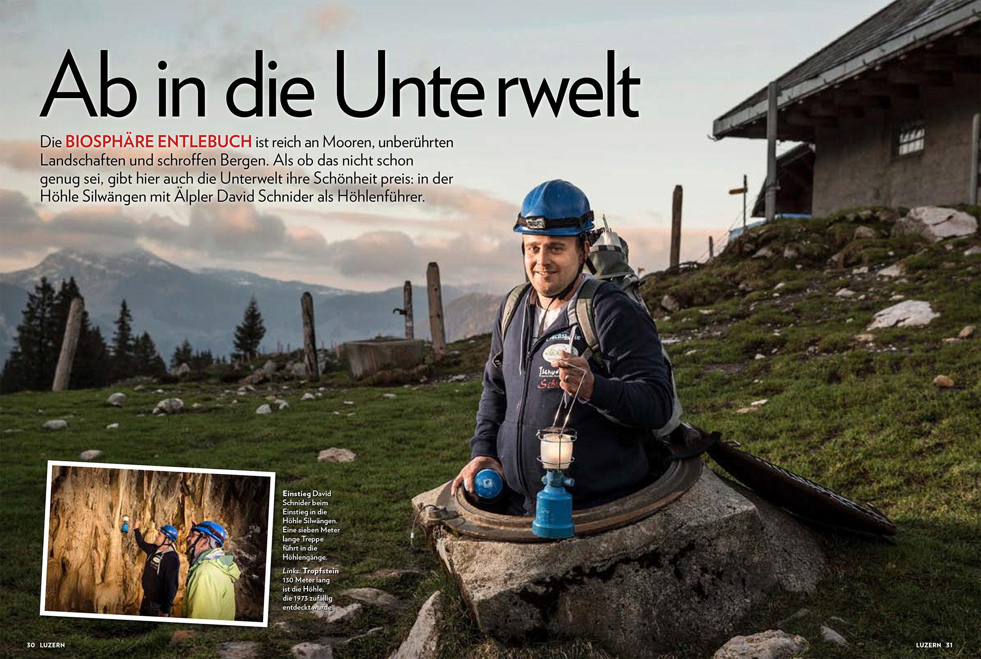 Luzern Beilage Schweizer Illustrierte 2014