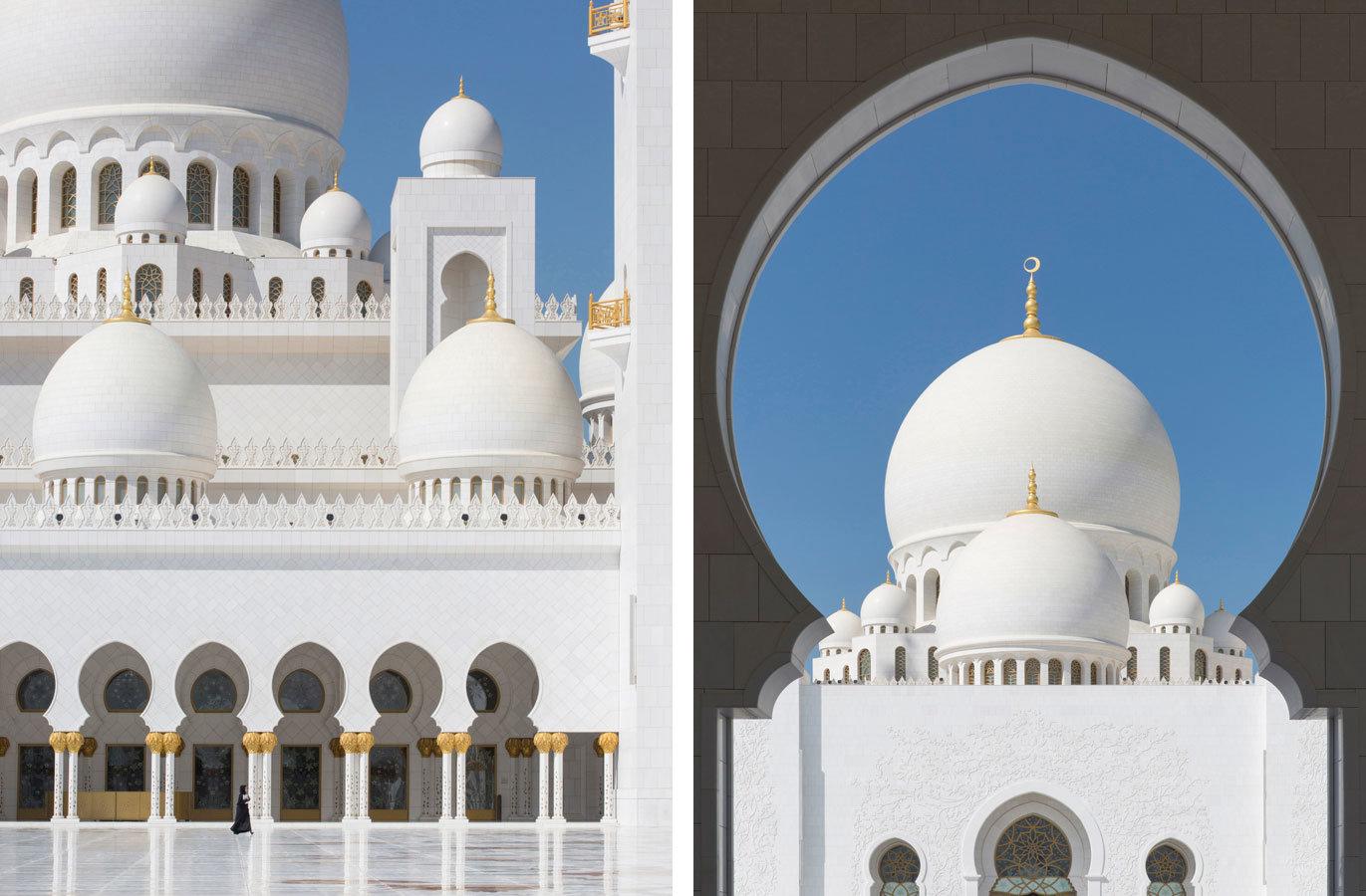 The Grand Mosque - Abu Dhabi