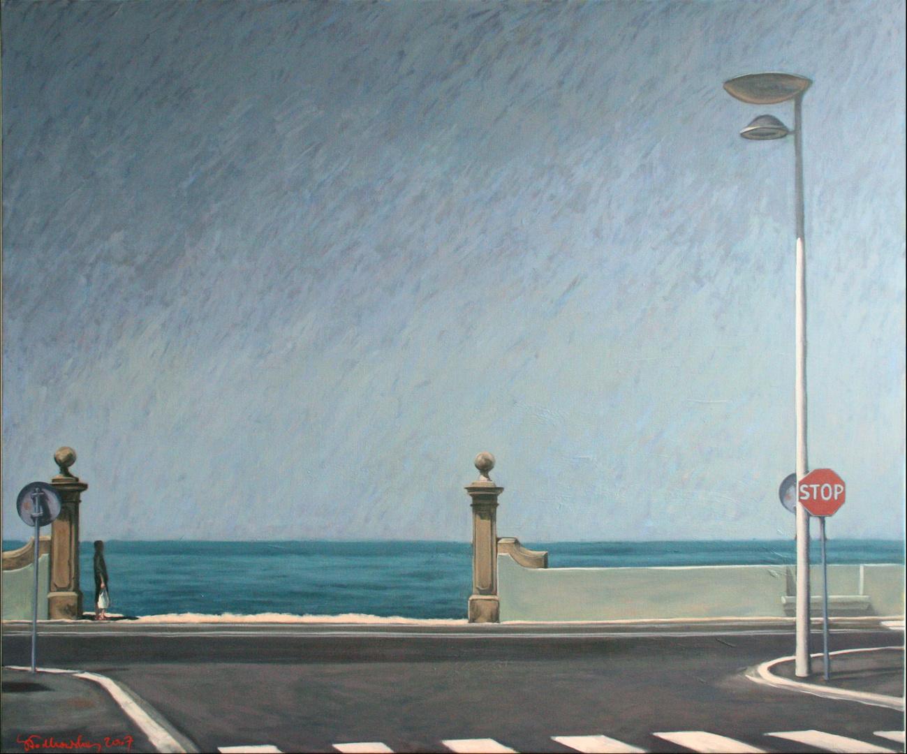 Vila do Conde, 120x100 olej płotno 2007