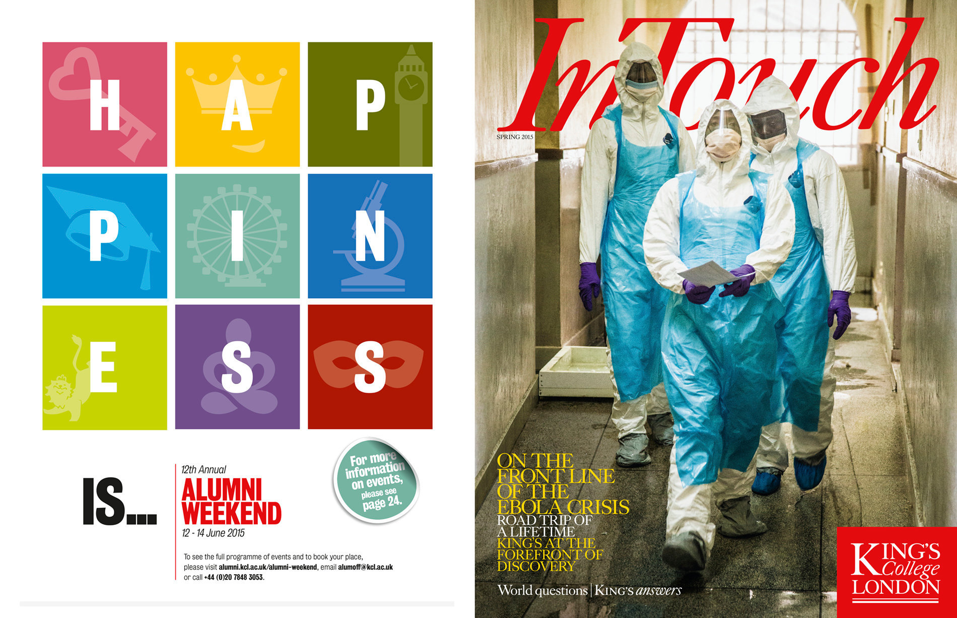 King's InTouch Spring 2015