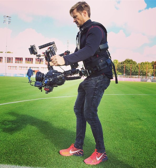 FC Bayern Stars Steadicam Commercial 2016