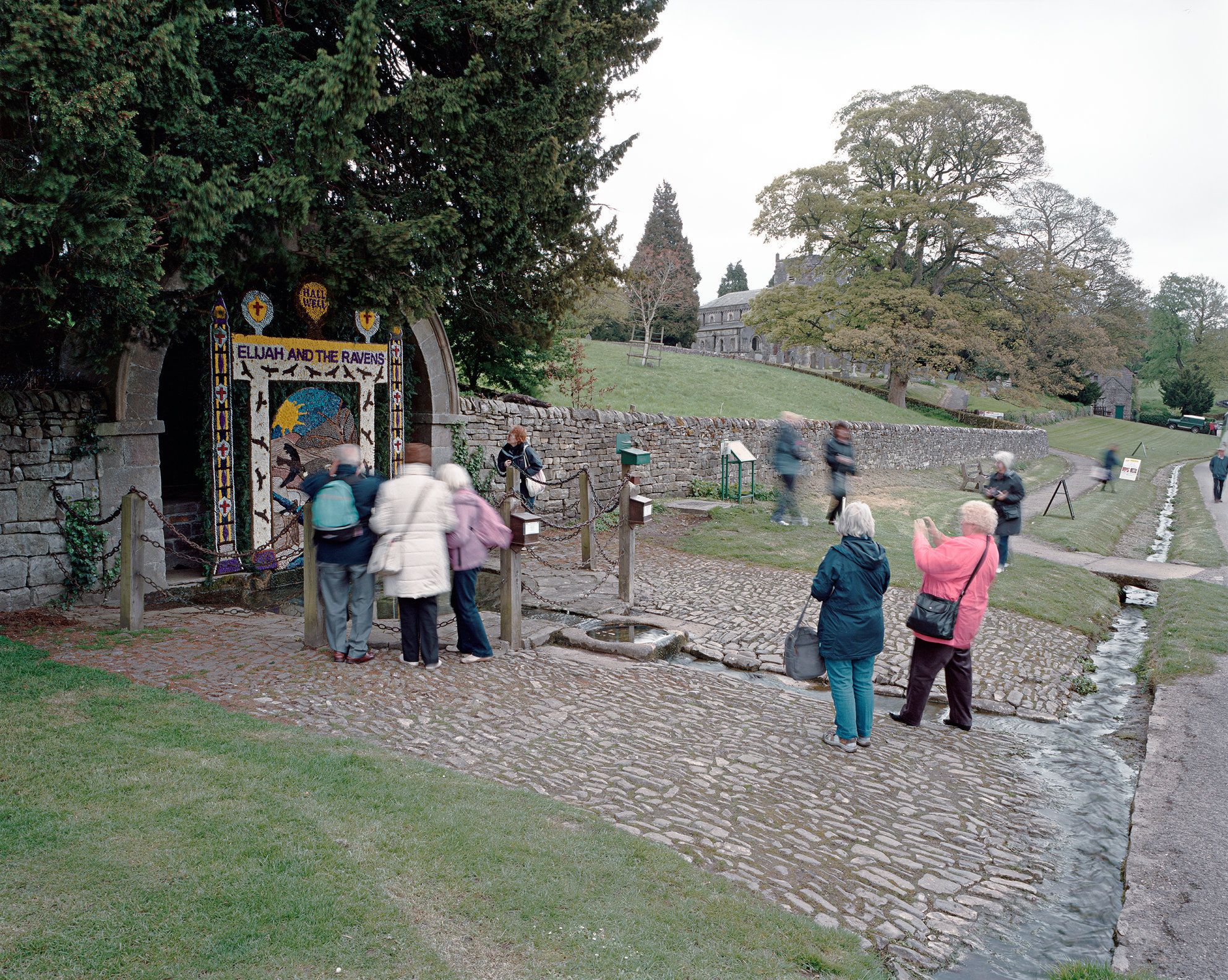 Hall Well, Tissington, Derbyshire