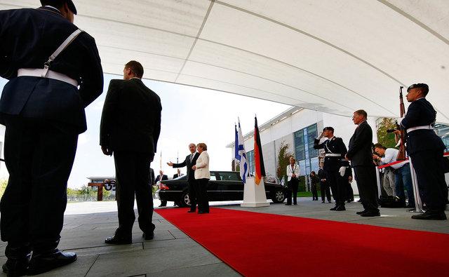 German Chancellor Angela Merkel and Israel Prime Minister Benjamin Netanjahu