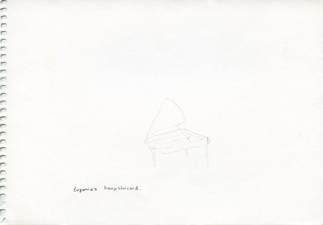 Eugenia's harpsichord