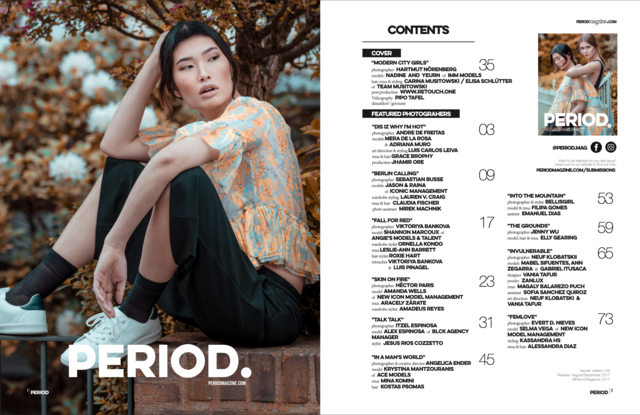 Modern City Girl - Period Mag