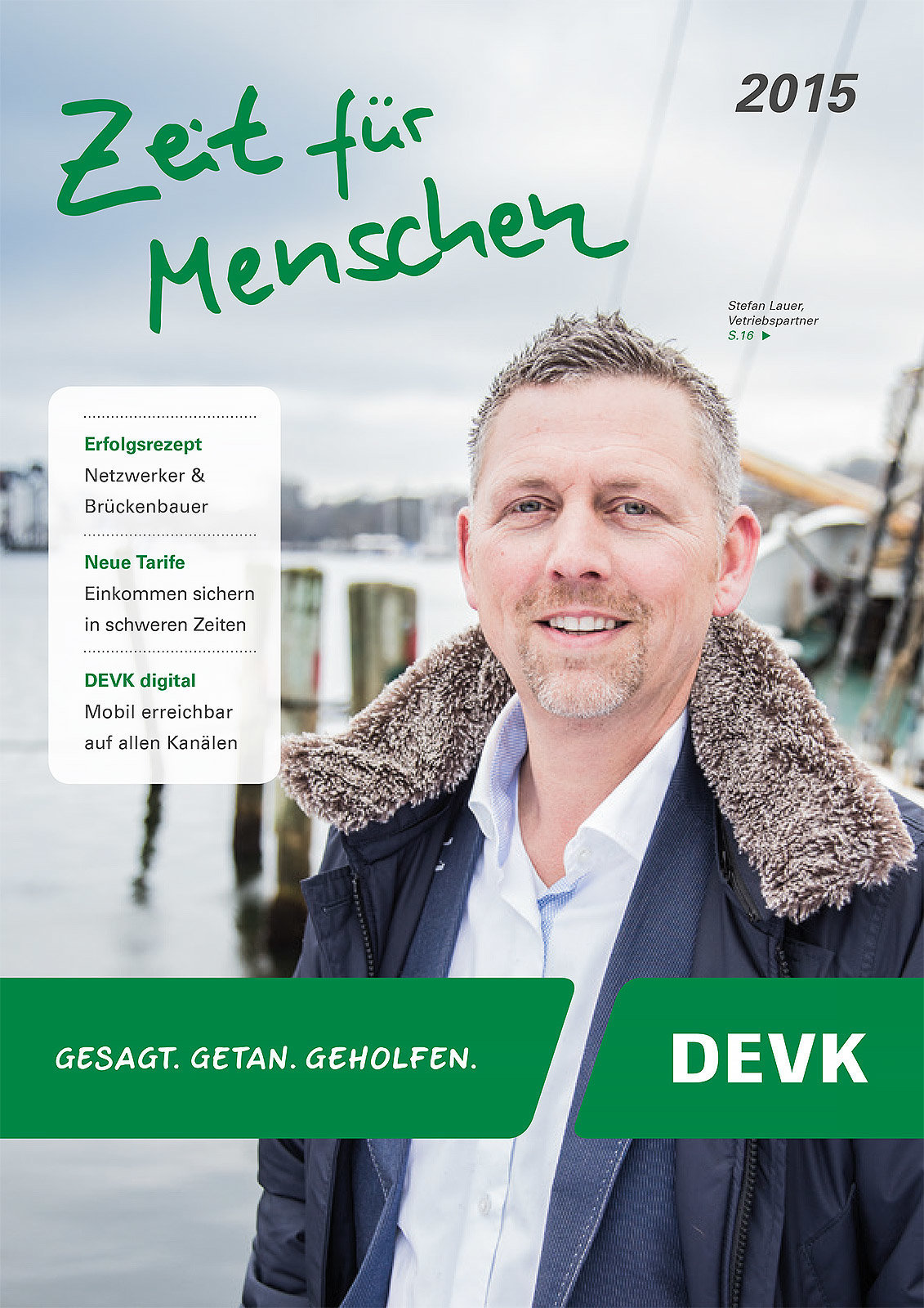 DEVK Imagebroschüre